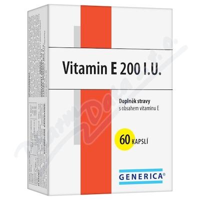 Zobrazit detail - Vitamin E 200 I. U.  cps. 60 Generica