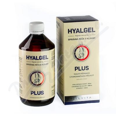Zobrazit detail - Hyalgel plus pomeranč 500ml