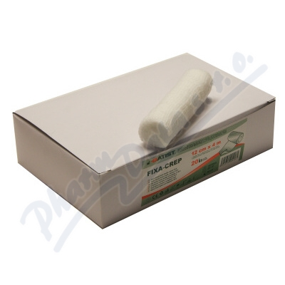 Obin.fixační Fixa-Crep 12cmx4m 20ks Batist