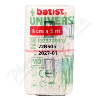 Zobrazit detail - Obin. elastické Universal 8cmx5m 1ks Batist