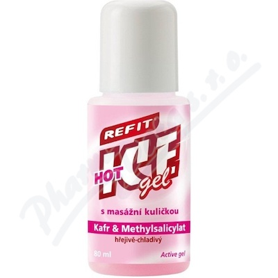 Zobrazit detail - Refit Ice gel roll-on kafr hřejivě chladivý 80ml