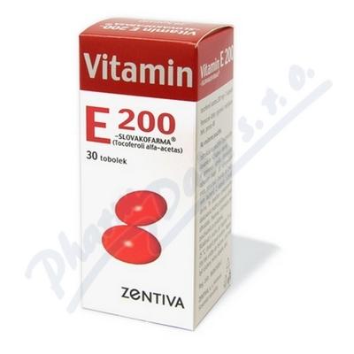 Zobrazit detail - Vitamin E 200 Zentiva por. cps. mol. 30x200mg