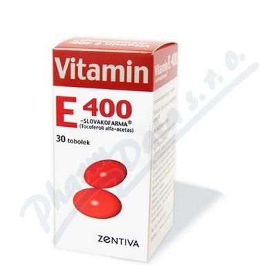Zobrazit detail - Vitamin E 400 Zentiva por. cps. mol. 30x400mg