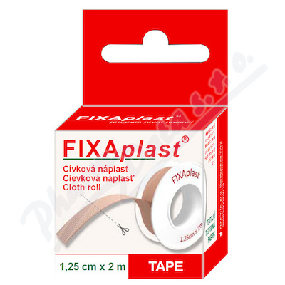 Náplast Fixaplast cívka 1.25cmx2m