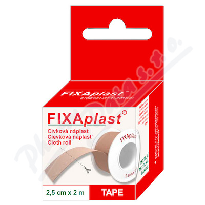 Zobrazit detail - Náplast Fixaplast cívka 2. 5cmx2m