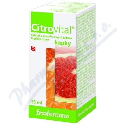 Zobrazit detail - Fytofontana Citrovital kapky 25ml