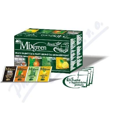 Zobrazit detail - VITTO MIXGREEN 4 druhy zeleného čaje n. s. 20x2g
