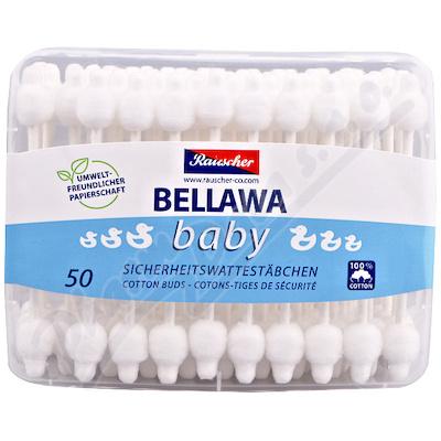 Zobrazit detail - Vatové tyčinky Bellawa pro kojence 56ks
