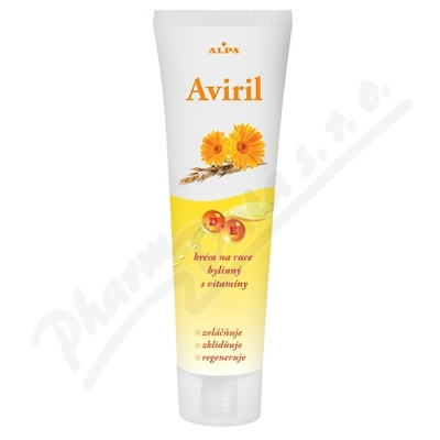 Zobrazit detail - Aviril krém na ruce bylinný s vitamíny 100ml