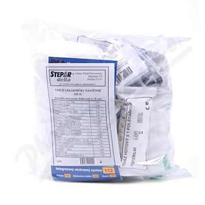 Zobrazit detail - Lékárnička - nástěnná-výměn. náplň ZM 10-10 osob