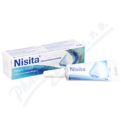 Zobrazit detail - NISITA nosní mast 10g