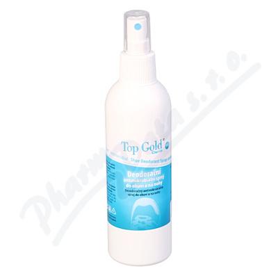 TOP GOLD Deodorační antimikrob.sprej do obuvi 150g
