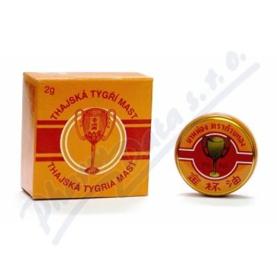 Zobrazit detail - Thajská tygří mast Golden Cup balm 2g