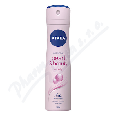 Zobrazit detail - NIVEA Deo ženy PEARL&BEAUTY sprej AP 150ml č. 83731