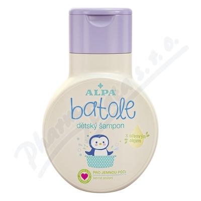 Zobrazit detail - Batole dětský šampón s olivovým olejem 200ml