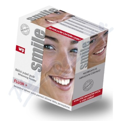 Zobrazit detail - WP SMILE Fluor 30g bělící zubní pudr