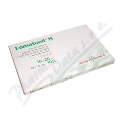 Tyl mastný Lomatuell H 10x20cm 10ks sterilní