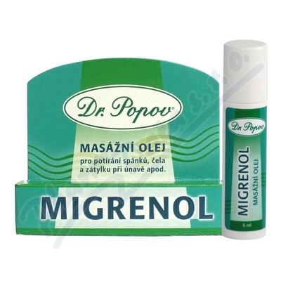 Zobrazit detail - Dr. Popov Migrenol roll-on masážní olej 6ml