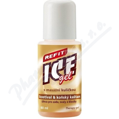Zobrazit detail - Refit Ice gel roll-on s kostivalem 80ml hn�d�