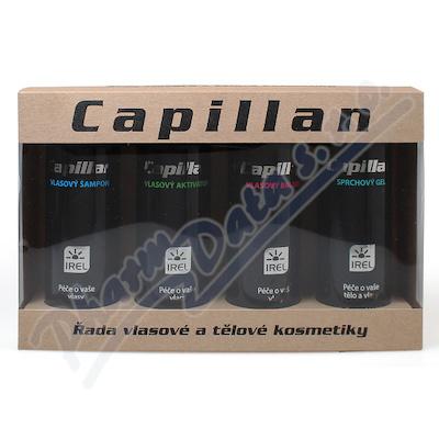 Zobrazit detail - Capillan S dárk. sada aktivátor+šamp. +balzám+spr. g.