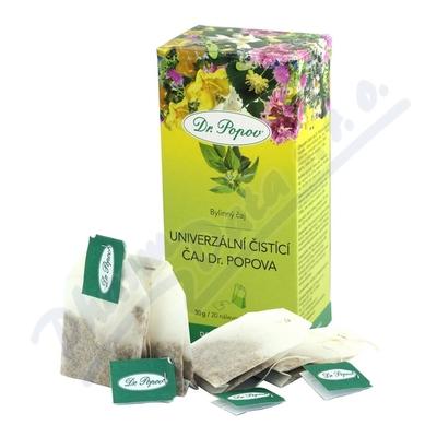 Čaj univerzální čistící porcovaný 20x1.5g Dr.Popov