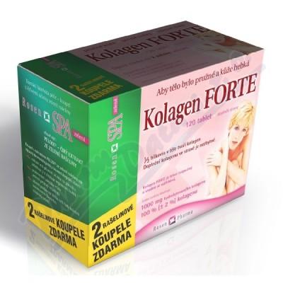 Zobrazit detail - Rosen Kolagen Forte tbl. 120+2 RosenSpa zel. koupel