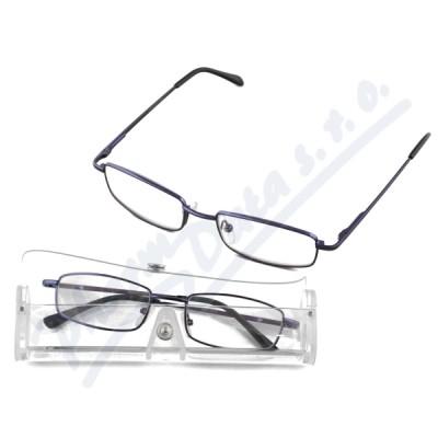 Brýle čtecí American Way +2.50 modré v etui