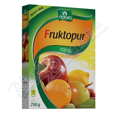 Zobrazit detail - Fruktopur plv. 250g - ovocný cukr