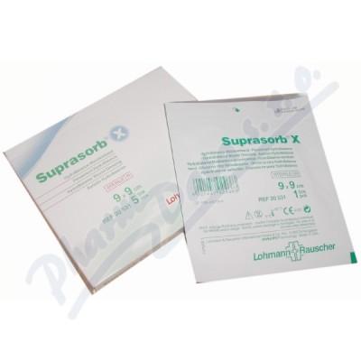 Krytí Suprasorb X 9x9cm 5ks hydroBalance steril.