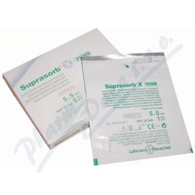 Zobrazit detail - Krytí Suprasorb X+PHMB 5x5cm 5ks antimikrob. steril