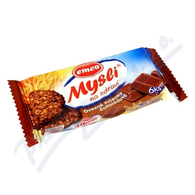 Zobrazit detail - EMCO Mysli sušenky čokoládové 60g