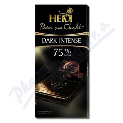 Zobrazit detail - Čokoláda HEIDI Dark Intense 75% 80g