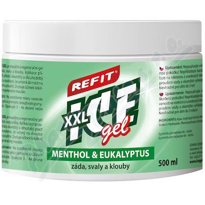 Zobrazit detail - Refit Ice masážní gel s eukalyptem 500ml zelený
