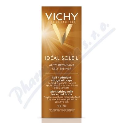 Zobrazit detail - VICHY Ideál Soleil Auto bronzant mléko 100ml
