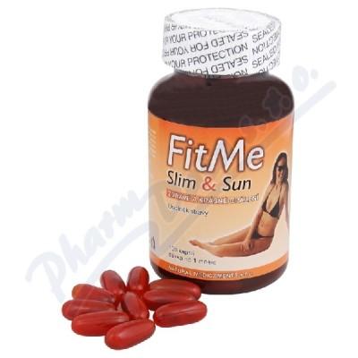 Zobrazit detail - Natural Medicaments FitMe Slim&Sun cps. 100