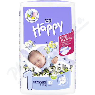Happy Newborn dětské pleny 42ks