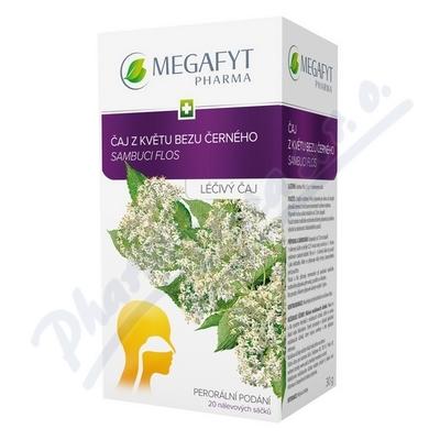 Megafyt Čaj z květu bezu černého por.spc.20x1.5gm