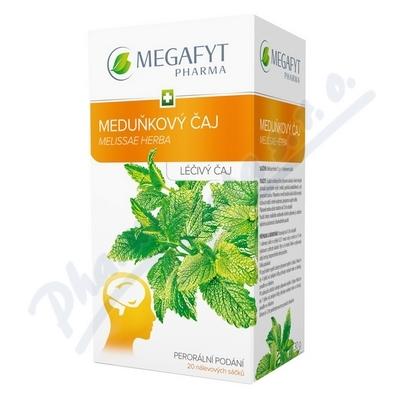 Zobrazit detail - Megafyt Meduňkový čaj por. spc. 20x15gm