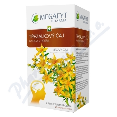 Zobrazit detail - Megafyt Třezalkový čaj por. spc. 20x1. 5gm