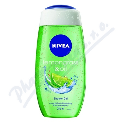 NIVEA Sprchový gel LEMON & OIL 250ml č.81067