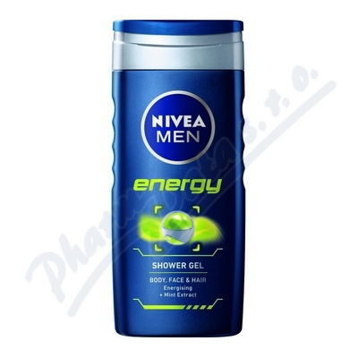 NIVEA Sprchov� gel mu�i ENERGY 250ml �.80803