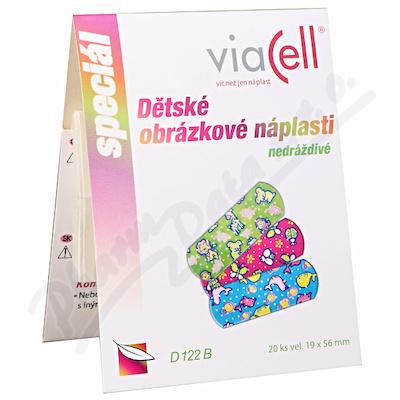 VIACELL D122MIX Dětské náplasti 20ks