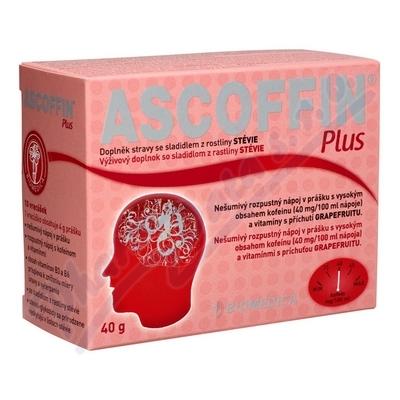 Zobrazit detail - Ascoffin Plus 10 sáčků-4g nová příchuť