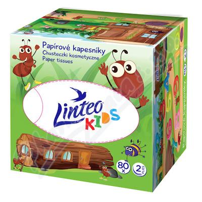 Zobrazit detail - Kapesník papírový Linteo Kids Box 80ks