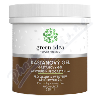 TOPVET Kaštanový gel 250ml