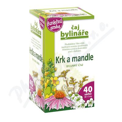 Čaj Bylináře Krk a mandle 40x1.6g