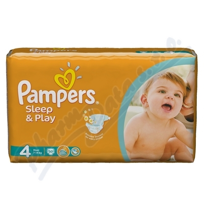 Zobrazit detail - PAMPERS Sleep&Play 4 Maxi 50ks