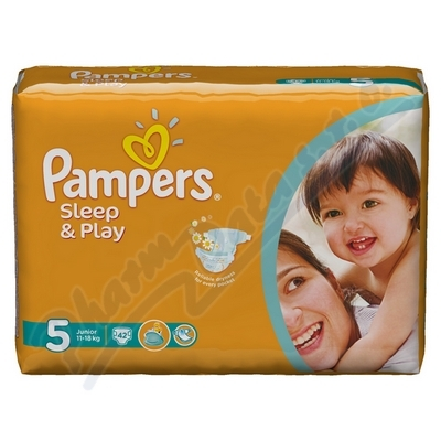 Zobrazit detail - PAMPERS Sleep&Play 5 Junior 42ks