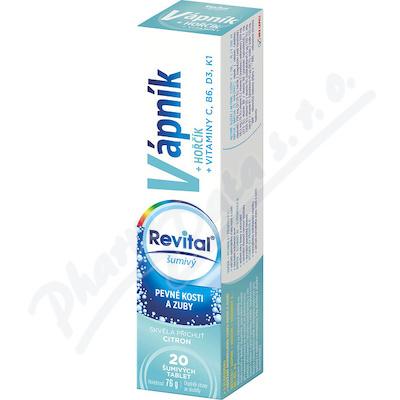 Zobrazit detail - Revital Vápník+hořčík+vitaminy tbl. eff. 20