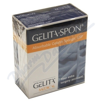 Zobrazit detail - Gelita-Spon Standard GS-010 80x50x10mm 10ks